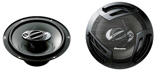 Pioneer TS-A2503I 3-Weg-Koaxiallautsprecher (420 W), 25 cm, kraftvoller Klang, IMPP-Membran für optimalen Bass, 80 W Eingangsnennleistung, schwarz, 2 Lautsprecher