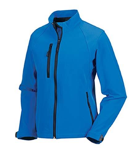 Russell Damen Softshell Jacke, Größe:XS, Farbe:Azure Blue