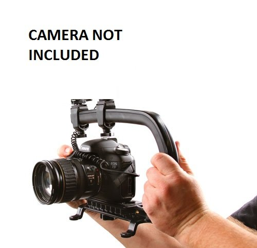 Pro Video Stabilizing Handle Scorpion grip For: Sony Alpha a5000 Vertical Shoe Mount Stabilizer Handle