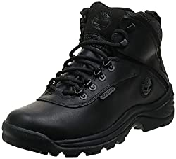 cheap Timberland White Ledge Mid Men's Waterproof Ankle Boots Black 11 M US