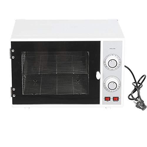 Esterilizador de alta temperatura de 25L, gabinete de desinfección para calentadores de manicura y herramientas de belleza para el peluquero [UE], esterilizador de ozono UV 3 en 1, secador de uña