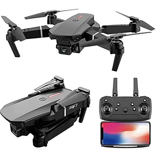 DCLINA Drone GPS Pieghevole 4K FPV HD Video Dual Camera Drone con Custodia per Il Trasporto Tempo Volo Lungo Ritorno Automatico a casa Seguimi