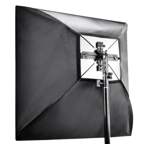 Walimex Blitzhalter Set inkl. Softbox (4-fach, 60x60cm)
