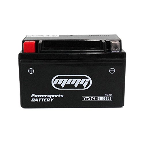 MMG YTX7A-BS Gel Cell Sealed Factory Activated High Performance Powersports Battery