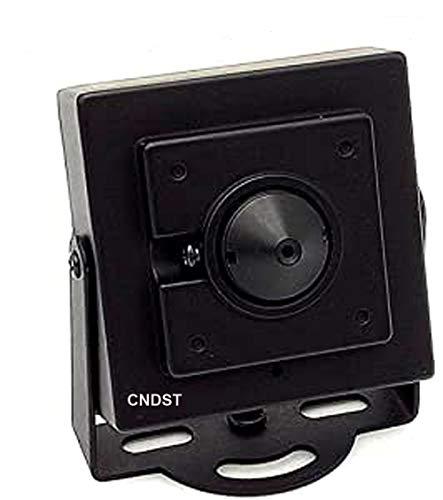 CNDST CCTV Sony 1080P HD AHD Mini Spy Pinhole Telecamera di sicurezza 2000Tvl 2MP 3,6mm 90 gradi, Mini telecamera di sorveglianza nascosta