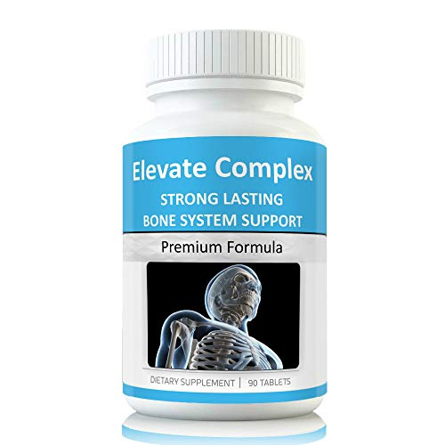 Elevate Grow Taller Bone Support Supplements Height Growth Support to Grow Taller. Vitamins for Height end Need for Height Increase Insole