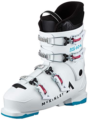 McKINLEY Mg60-4 Scarponi da sci da ragazza, ragazza, scarponi da sci, 409206, bianco blu., 27