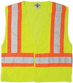 ML Kishigo 1174 Ultra-Cool Polyester Mesh Breakaway Vest, 2X-Large, Lime