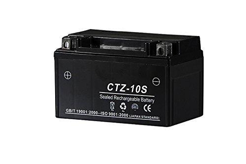 バイクパーツセンター YTZ-10S ユアサ互換 シールド型 液入充電済 バイク用高性能バッテリー CTZ-10S【TTZ10S YTZ10S FTZ10S互換】
