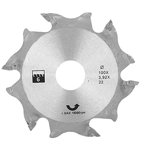 Sega circolare Disco smerigliatrice angolare Sega circolare Disco 100MM Argento denti in metallo finitura Seghe per strumenti hardware lavorazione del legno