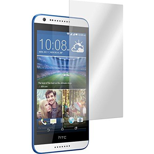 PhoneNatic 2 x Glas-Folie klar kompatibel mit HTC Desire 620 - Panzerglas für Desire 620