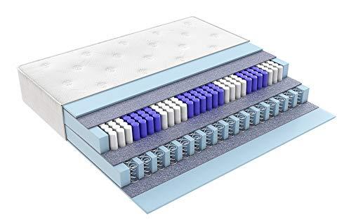 Matratzen Perfekt Boxspring-Matratze in den Härtegraden H2, H3, H4 und H5, Höhe von 33 cm, Terra Med Box² Boxspringbett-Matratze mit Doppel-Federkern (H4, 80 x 200 cm)