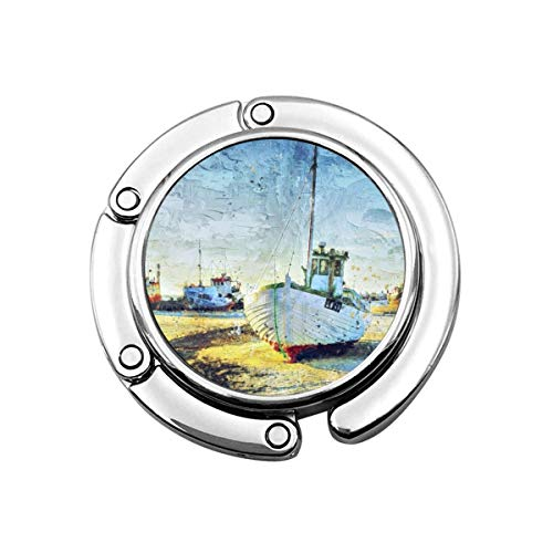 Cutter North Sea Horoscope Astrology Zodiac Foldable Purse Hook Handbag Hangers Decor Table Hook