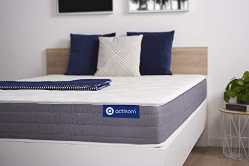 Colchón Actilatex Dream 90x180cm, Grosor: 22 cm, Látex y Espuma viscoelástica, Moderadamente Firme, 5 Zonas de...