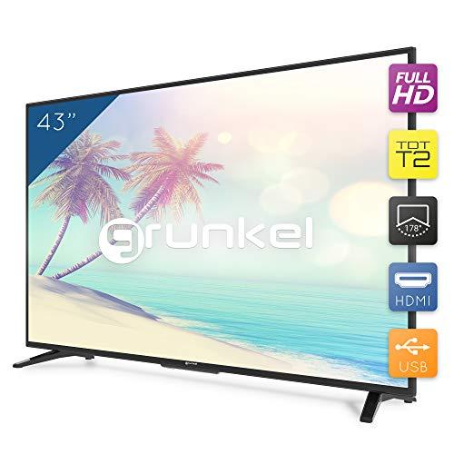 Grunkel - LED-430H T2 - Televisor LED Full HD Alta definición - 43 pulgadas - Negro