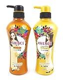 KAO Japan Asience Volume Rich & Moisture Rich Shampoo & Conditioner Set (Moisture Rich)