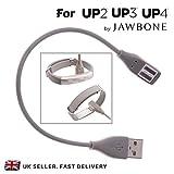 Cargador de repuesto para UP2UP3UP4Rastreador de actividad Fitness pulsera Jawbone