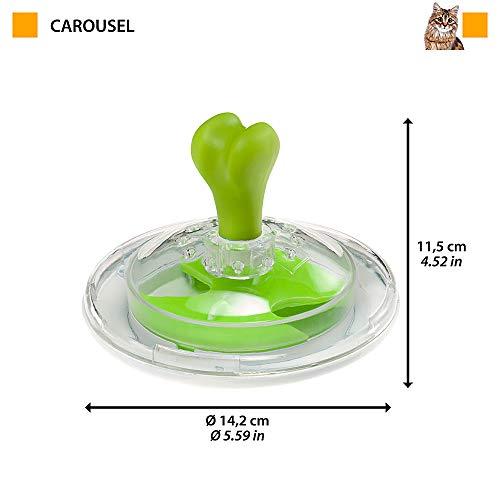 ファープラストイタリアferplast社製知育トイ犬猫カルーセルCAROUSELおもちゃ玩具遊びペット用品