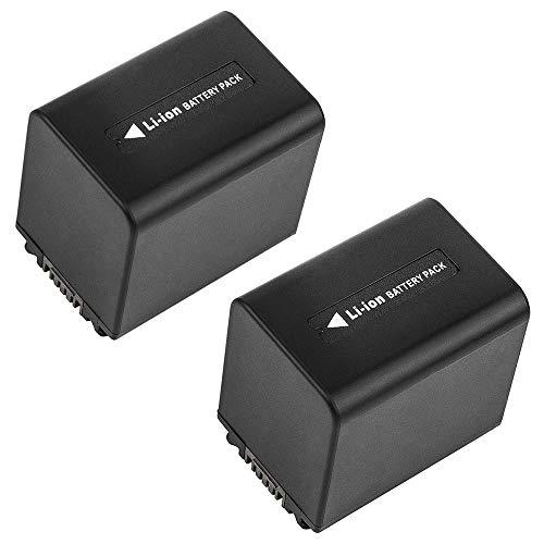 subtel 2X Batteria di Ricambio NP-FV100A NP-FV70A NP-FV90A NP-FV50A Compatibile con Sony FDR-AX100 FDR-AX53 FDR-AX700 HXR-NX80 HDR-CX625 CX450 CX900 CX680 HDR-PJ675 NEX-VG20 Accu 2050mAh Battery