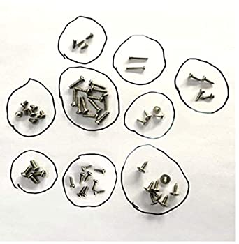 HIZLI  PROTOCOL RC PARTS FOR Galileo Stealth RC DRONE 6182-7CA PARTS ALL BADY SCREWS