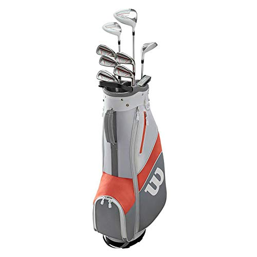 Wilson 1200 TPX Damen Golfset / Golf Komplettset, Rechtshand