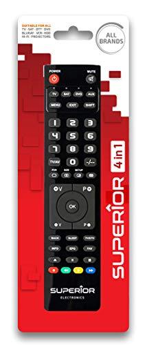 Superior 4in1 - Telecomando universale programmabile con quattro banchi di memoria