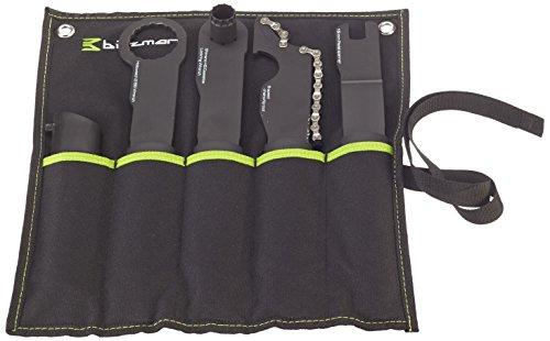 Birzman Unisex's Specialist 4-delige sleutelset voor mountainbike-gereedschap, zwart, één maat
