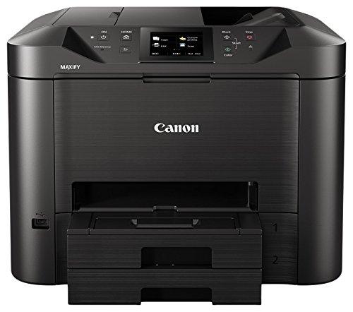Canon Maxify MB5450Multifunktionsdrucker Tintenstrahldrucker, 24ipm in schwarz-weiß, 15,5ipm in Farbe, 600x 1200DPI, schwarz/anthrazit