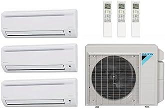 40,000 Btu 17.7 Seer Daikin Ductless Mini Split Heat Pump System - 7K-15K-18K 4MXS36RMVJU - CTXS07LVJU - FTXS15LVJU - FTXS...