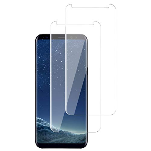 OUJD [2 Piezas] Protector de Pantalla para Samsung Galaxy S8, Transparente HD...