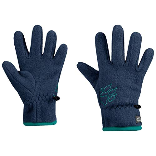 Jack Wolfskin Kids Baksmalla Fleece Glove Kids, Dark Indigo, 7-8Y