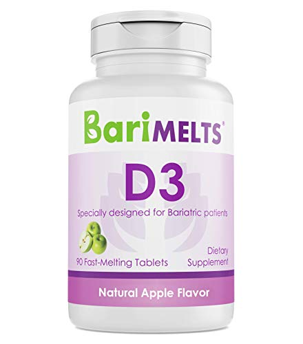 BariMelts D3, Dissolvable Bariatric Vitamins,...