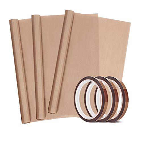 3 Pack PTFE Teflon Sheet 12 x 16