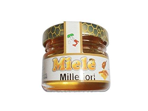 Millefiori - Jarrón de cristal monodosis de 30 g con aroma de miel de 30 g