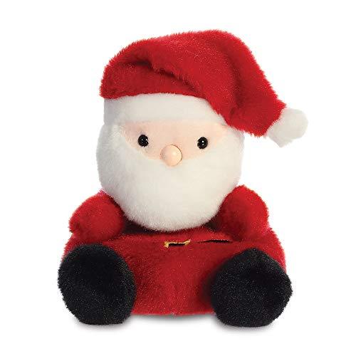 AURORA, 99131, Palm Pals Santa Claus, 5In, Soft Toy, Red & White