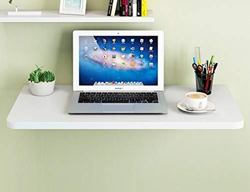 Mesa Plegable montada en la Pared Mesa de Comedor de Hoja abatible de Madera Maciza Escritorio Escritorio de computadora Plegable para el hogar Mesa de Aprendizaje Ahorre Espacio