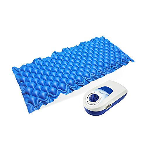 WangXN medisch luchtbed helpt bij het verlichten van huidirritaties, wisselende luchtbellen met instelbare pomp.
