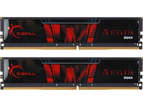 G.Skill Aegis F4-2666C19D-32GIS módulo de - Memoria (32 GB, 2 x 16 GB, DDR4, 2666 MHz, 288-pin DIMM)