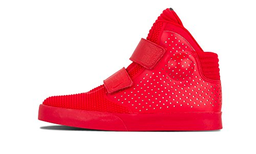 Nike Herren Flystepper 2K3 PRM Basketballschuhe, Rot (University Red) / Chrom, 44 EU