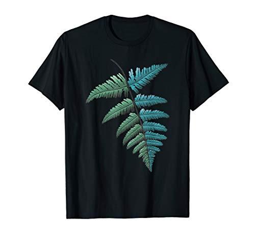 Farn Blatt - Farnblatt für Träumer und Reisende - Geschenk T-Shirt