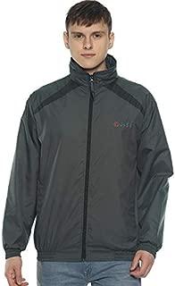 OJASS Full Sleeve Solid Men Grey Jacket