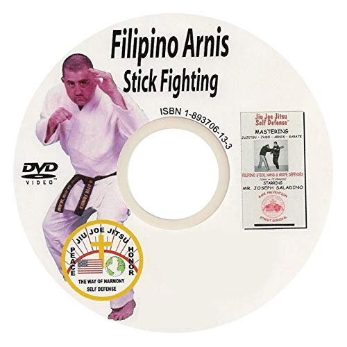 Arnis Filipino Stick, Hand, Knife Techniques Self Defense Martial Arts Best Value