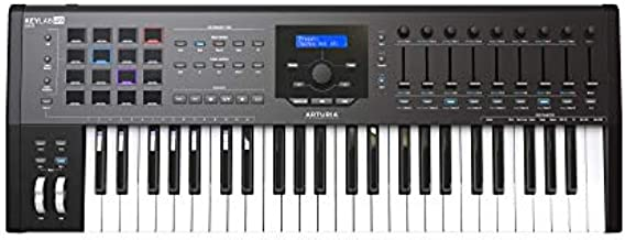 Arturia KeyLab 49 MKII Keyboard Controller (Black)