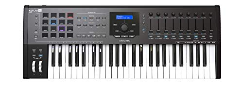 Arturia Keylab 49 Mkii 49Keys Usb Black,white Midi Keyboard - Midi Keyboards (49 Keys, Buttons, Lever, Rotary, Black, Multicolour, Usb, 793 Mm)