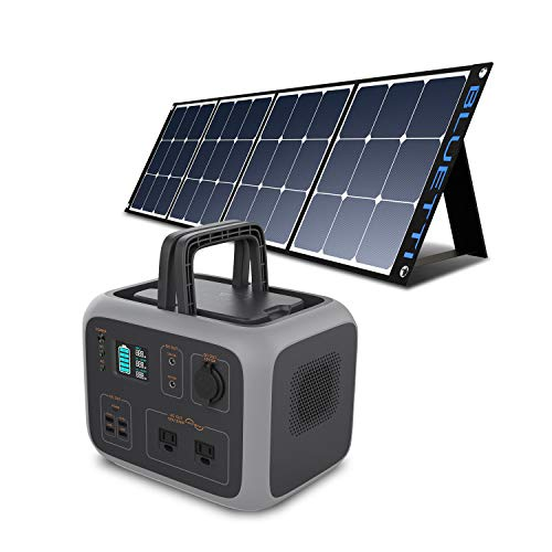 BLUETTI Portable Power Station with Solar Panel 120W Included, AC50S...