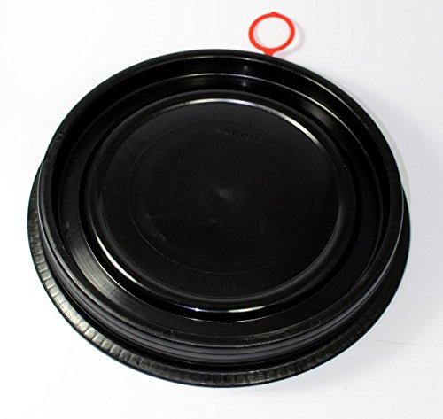 SCHÜTZ Deckel für 60 Liter PE Spannring Deckelfass - Ø372 mm