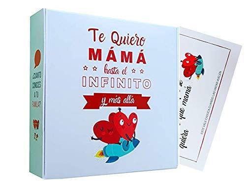 Pack Regalo Mamá. Kit Regalo Original para Madres Cumpleanos o el día de la Madre