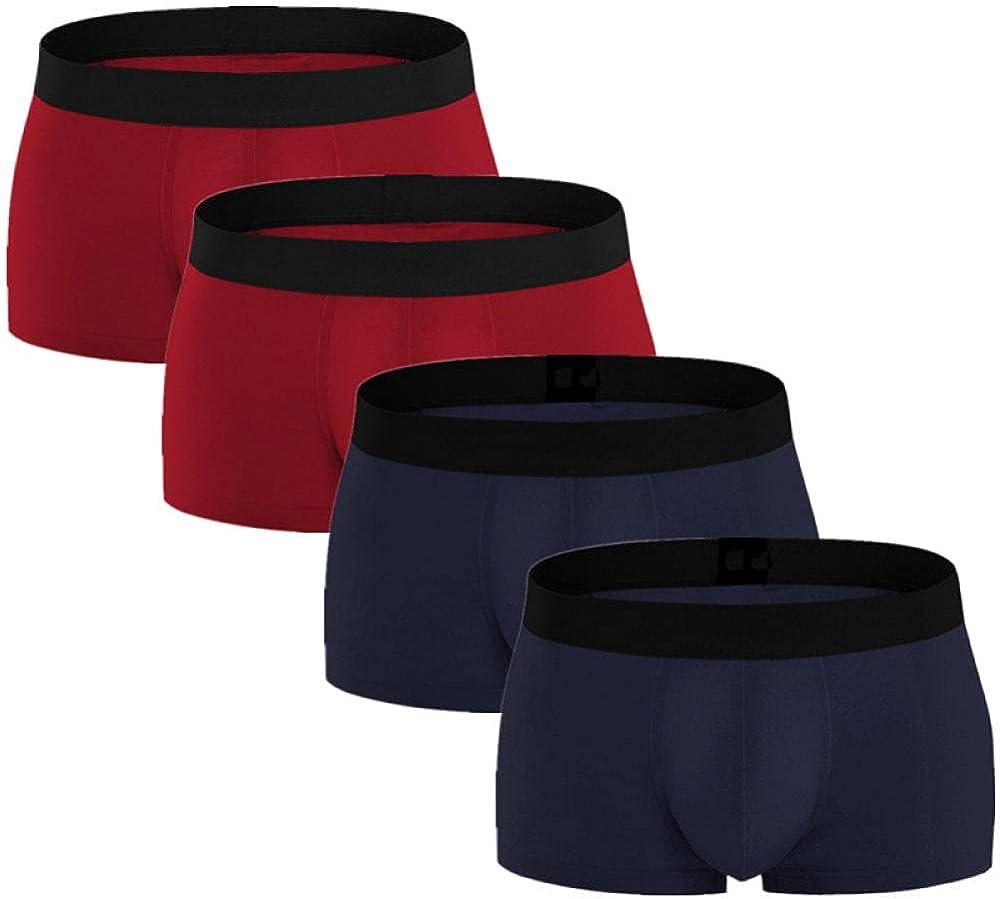 Mens Boxers 4Pcs/Lot Men'S Panties Underpants Boxers Shorts Man Slip Male Underwear
