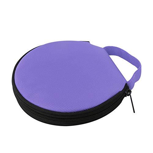 Steellwingsf solide Farbe r& Oxford Tuch Auto zu Hause 20 Scheibe CD-Aufbewahrungstasche Tasche Rei?Verschluss-Tasch-lila