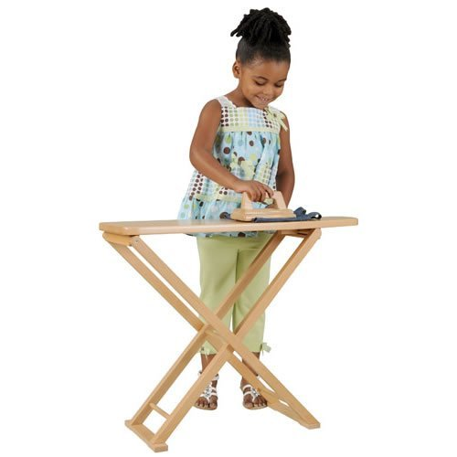 Guidecraft Wooden Ironing Board Set